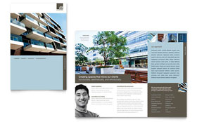 Architect - Brochure Template Design Sample