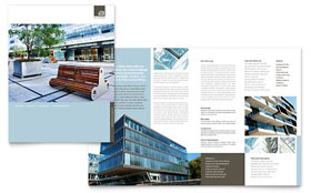 Architect - Graphic Design Brochure Template