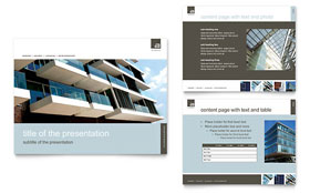 Architect - PowerPoint Presentation Sample Template