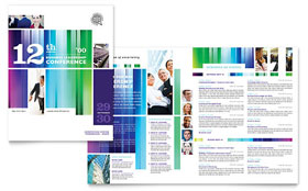 Business Leadership Conference - Microsoft Word Brochure