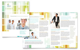 Business Solutions Consultant - Brochure Template