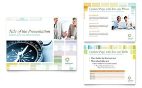 Business Solutions Consultant - Microsoft PowerPoint Template
