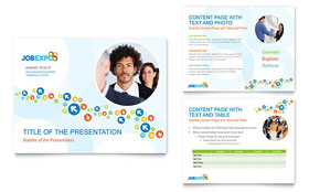 Job Expo & Career Fair - PowerPoint Presentation Template