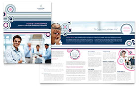 Marketing Agency - Graphic Design Brochure Template