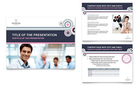 Marketing Agency - PowerPoint Presentation Sample Template