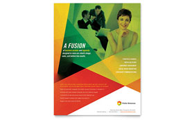 Public Relations Company - Leaflet Template