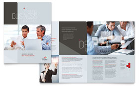 Corporate Business - Brochure Template Design Sample