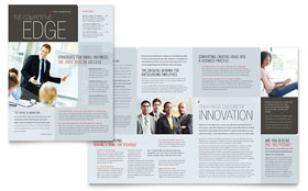 Corporate Business - Newsletter Template Design Sample
