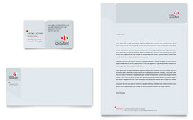 Corporate Business - Letterhead Template
