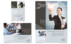 Corporate Business - Leaflet Template