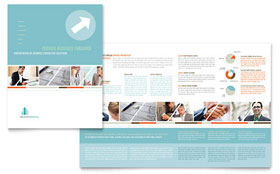 Management Consulting - Microsoft Word Brochure Template