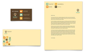 Business Services - Business Card & Letterhead