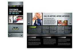 Locksmith - Brochure Sample Template