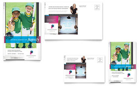 Photography Business - Postcard Template Design Sample