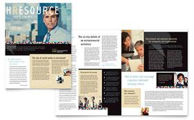Human Resource Management - Newsletter Template
