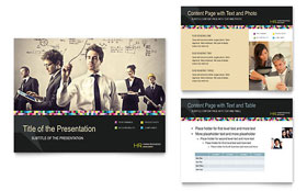 Human Resource Management - PowerPoint Presentation Template Design Sample