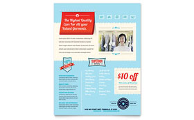 Laundry Services - Flyer Template
