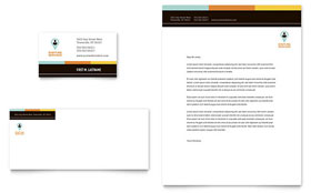 Recruiter - Business Card & Letterhead Template