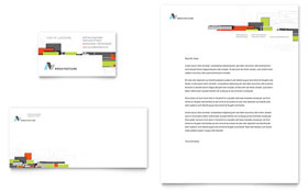 Architectural Design - Business Card & Letterhead Template