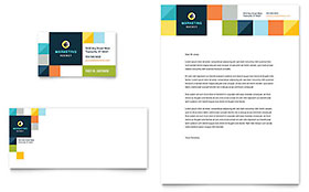 Advertising Company - Letterhead Sample Template