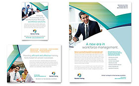 Business Training - Flyer & Ad Template