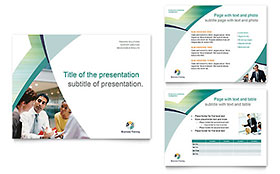 Business Training - PowerPoint Presentation Template