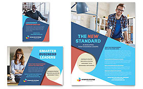Corporate Strategy - Print Ad Sample Template