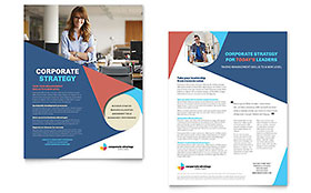 Corporate Strategy - Sales Sheet Template