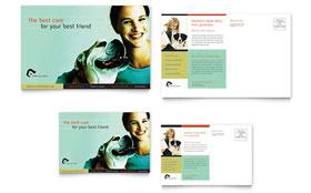 Veterinary Clinic - Postcard Template
