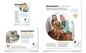 Pet Store - Flyer & Ad Template