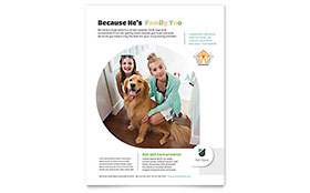 Pet Store - Flyer Template