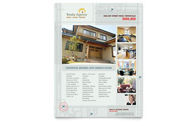 Real Estate Agent & Realtor - Flyer Sample Template