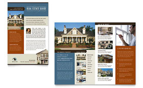 Real Estate Agent & Realtor - Newsletter Template Design Sample