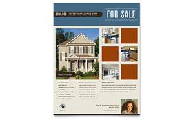 Real Estate Agent & Realtor - Flyer Template