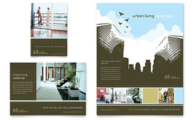 Urban Real Estate - Print Ad Sample Template