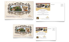 Luxury Real Estate - Postcard Template