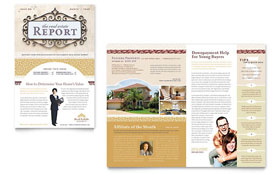 Luxury Real Estate - Newsletter Template