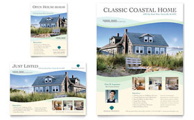 Coastal Real Estate - Flyer & Ad Template