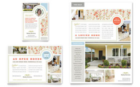 Real Estate Home for Sale - Flyer Sample Template