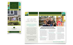 Real Estate - Desktop Publishing Brochure Template
