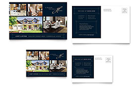Luxury Home Real Estate - Postcard Sample Template