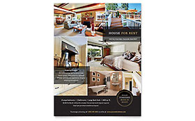 House For Rent - Flyer Template