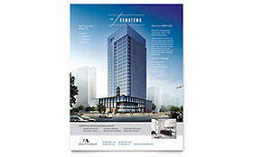 Downtown Apartment - Flyer Template