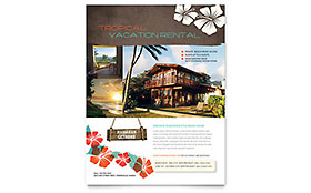 Vacation Rental - Flyer Template