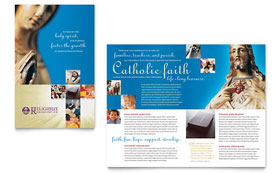 Catholic Parish and School - Brochure