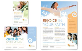 Christian Church - Leaflet Template