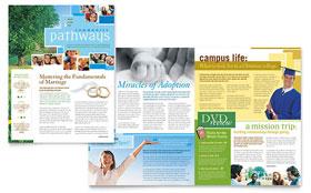 Community Church - Newsletter Sample Template