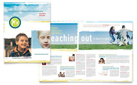 Special Education - Graphic Design Brochure Template