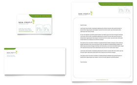 Environmental & Agricultural Non Profit - Business Card & Letterhead