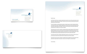 Christian Ministry - Business Card & Letterhead Template Design Sample